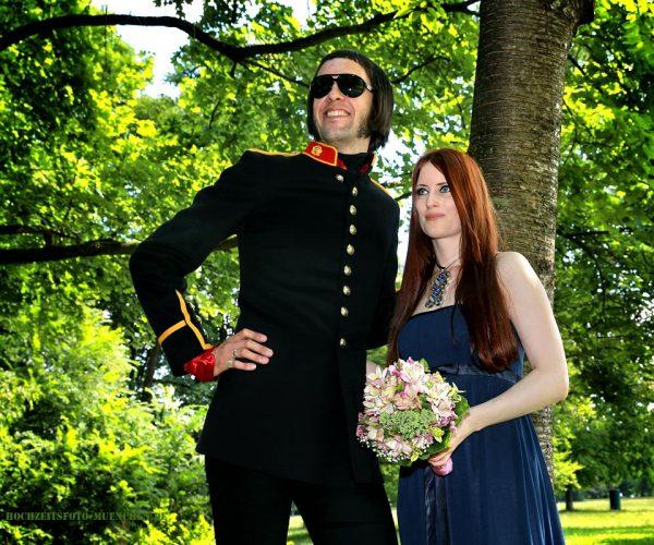 Hochzeit Shooting im Englischen Garten