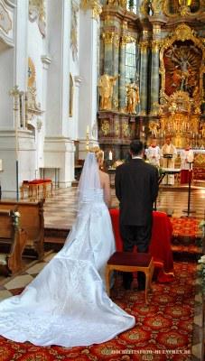 Trauungsreportage: Kirchliche Trauung
