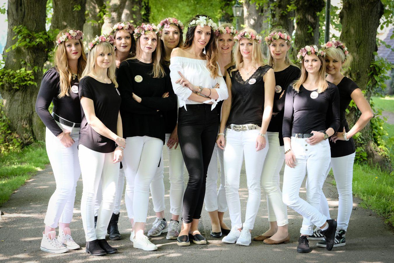 Junggesellinabschied Makeup Fotoshooting Dsseldorf JGA