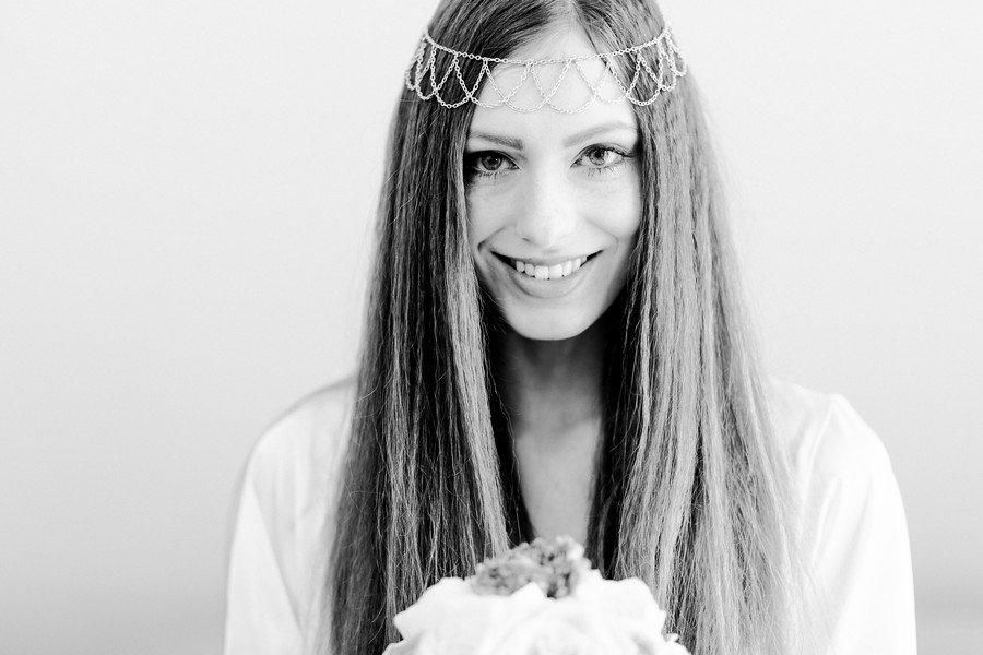 StylingIdeen fr deine Brautfrisur von Boho ber undone