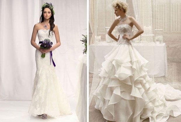 Das richtige Hochzeitskleid für jede Figur