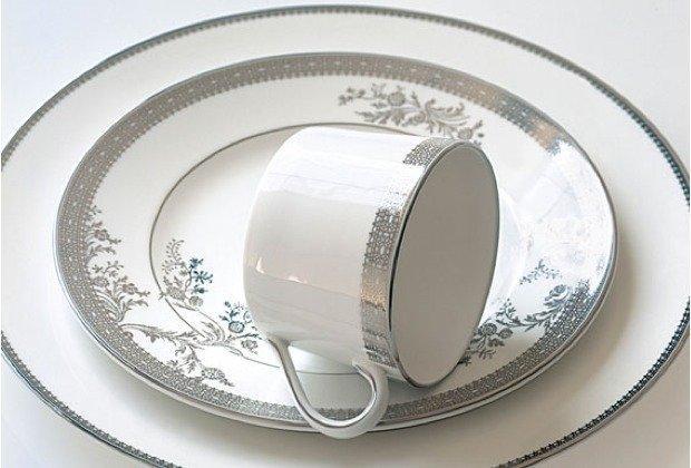Vera Wang desingt das Porzellan Service Lace Platinum