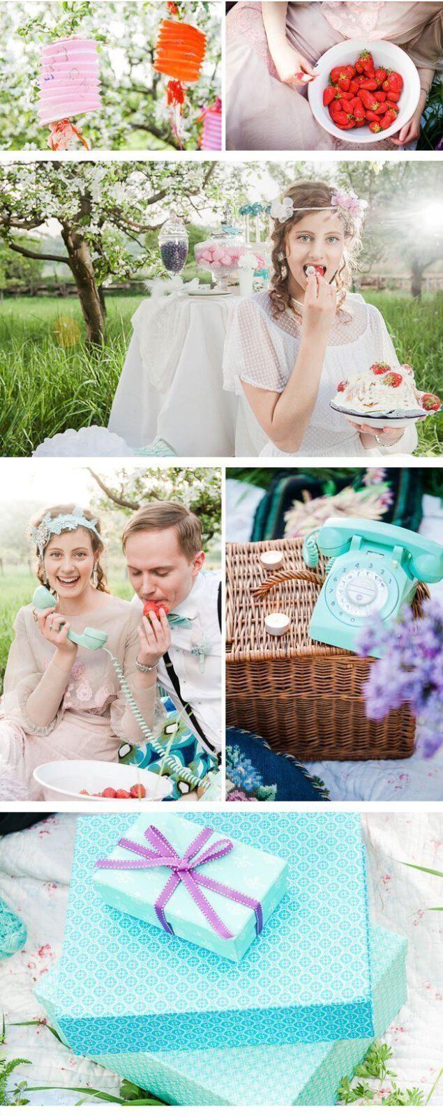 wedding picknick4-vintage styled shoot
