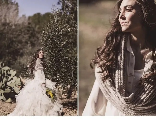 mediterranean forest wedding shoot 0013