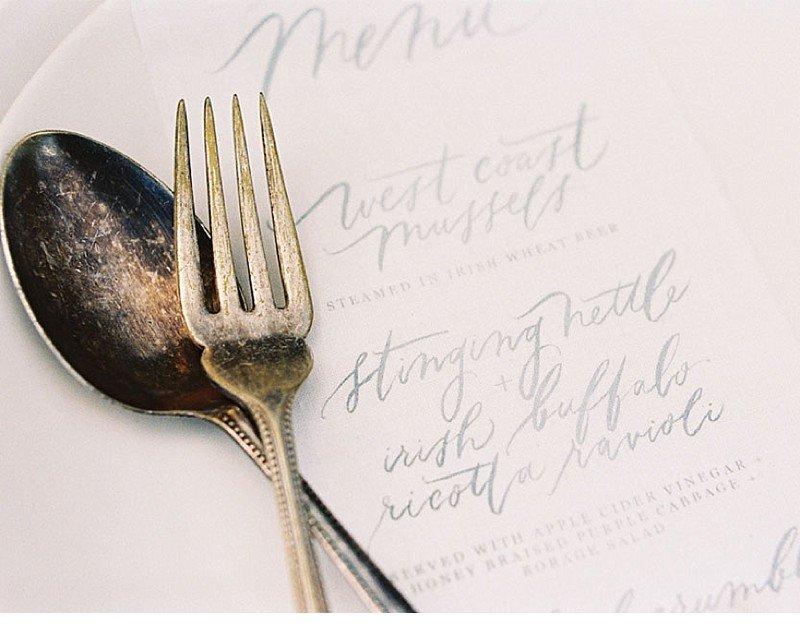 calligraphy wedding invitation 0021