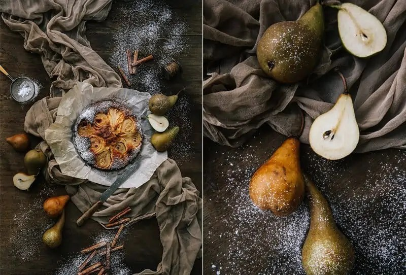 Duftender Birnenkuchen – Rezept von Comme Soie