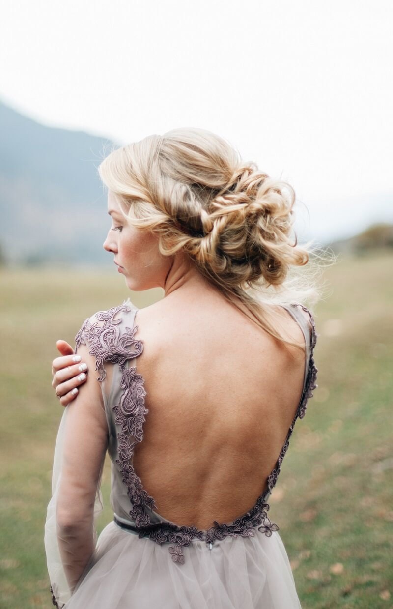 Brautfrisur hochgesteckt  30 wunderschne Ideen