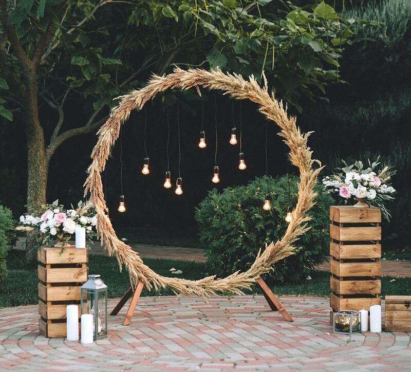 Wedding Hoops  30 kreative HochzeitsdekoIdeen