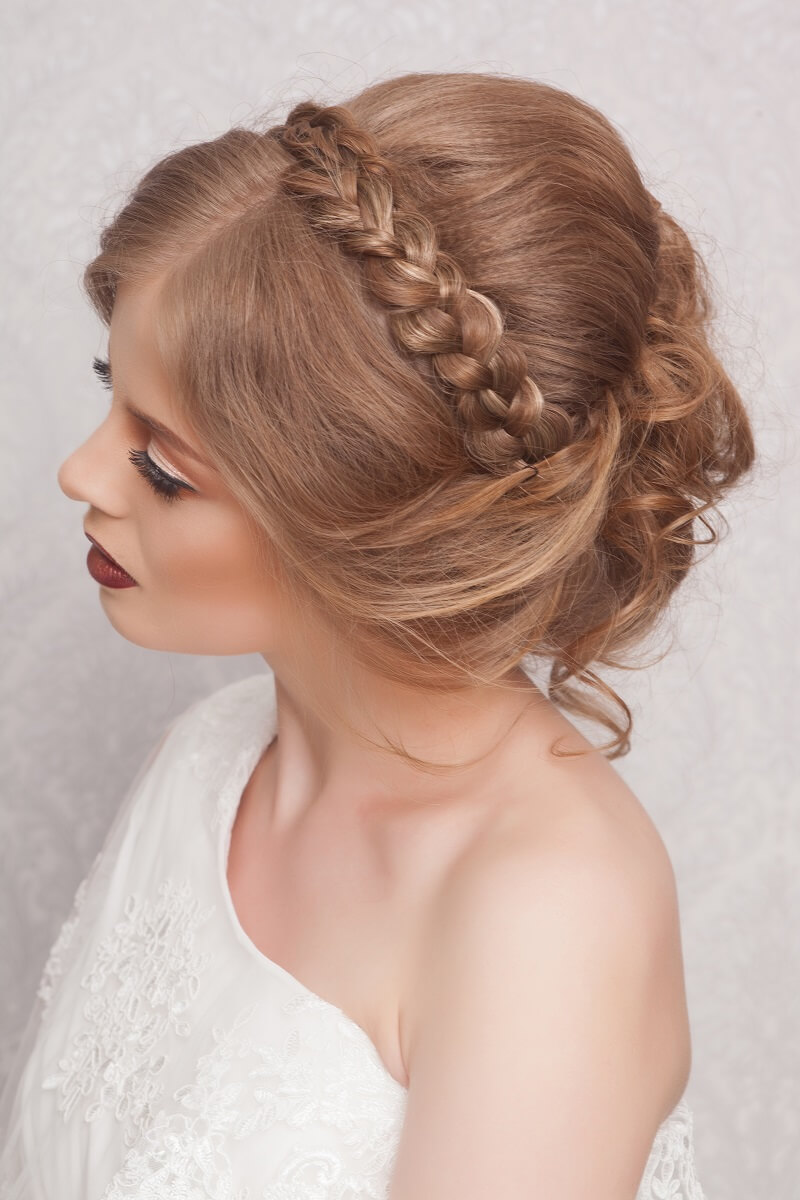 Brautfrisur geflochten 35 kreative Ideen  Hochzeitskiste