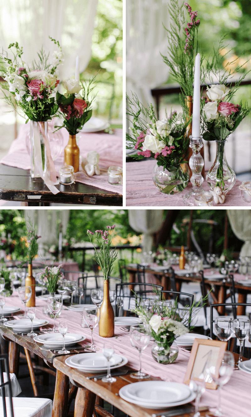 50 wunderschne Rosa HochzeitsdekoIdeen  Hochzeitskiste