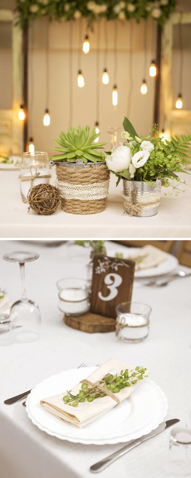35 originelle TischdekoIdeen fr die Hochzeit