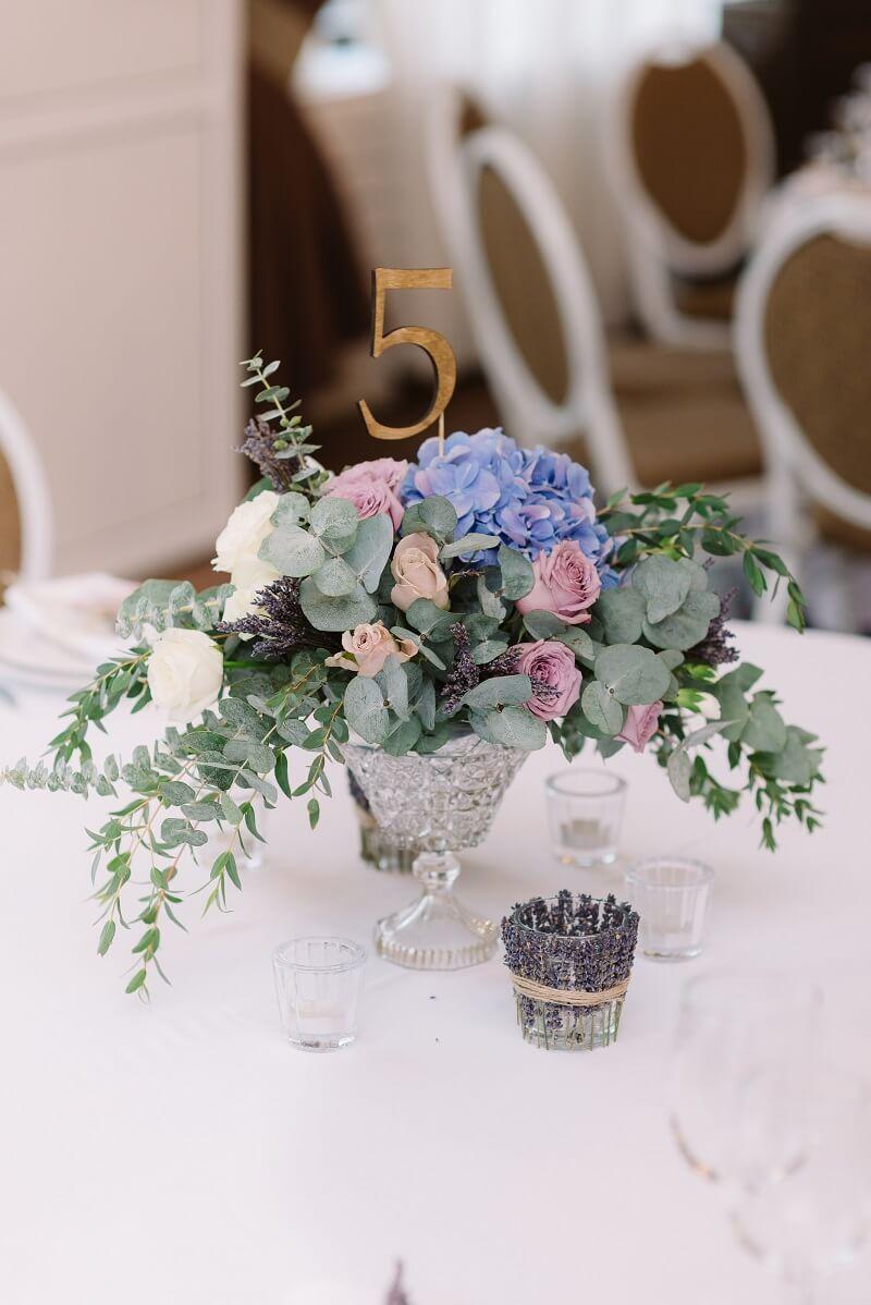 HochzeitsTischdeko 40 wunderschne Ideen fr runde Tische