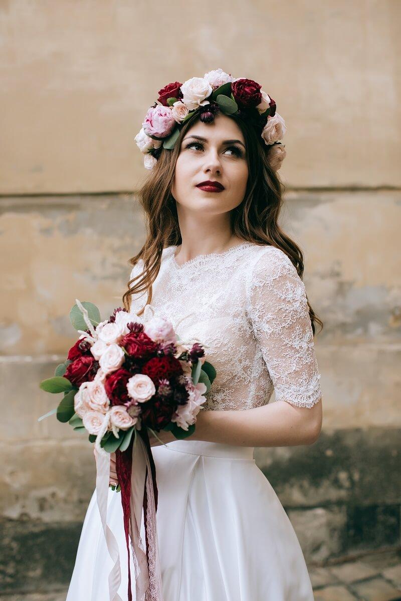 20 natrliche Boho Brautfrisuren  Hochzeitskiste