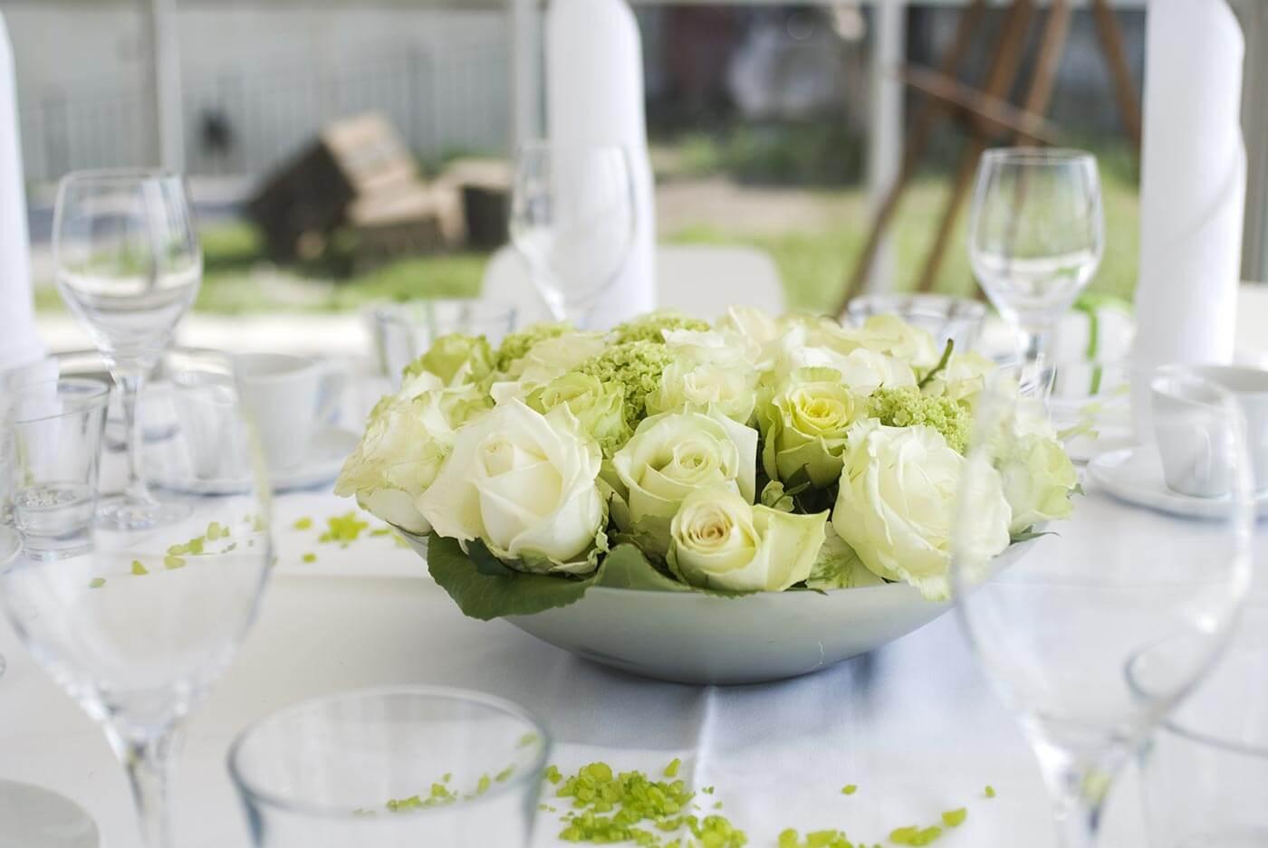 Tischkarten Hochzeit Grun Tischdeko Zum Geburtstag Runder 50ster