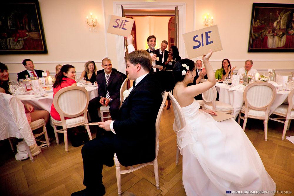 Spiele fr die Hochzeit  gefrchtet und gleichzeitig