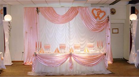 Hochzeitshalle selbst dekorieren  HochzeitsdekoSets