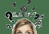 16883291 thinking women with question mark on white background 300x225 - HỎI& ĐÁP VỀ BÀI IELTS READING