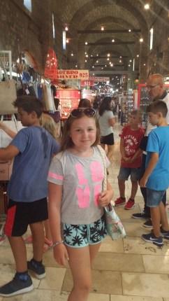 Lisa på en marknad