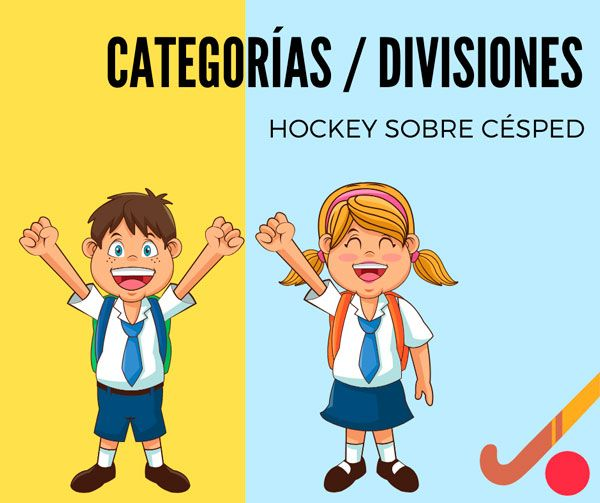 categorias de hockey edades 2019
