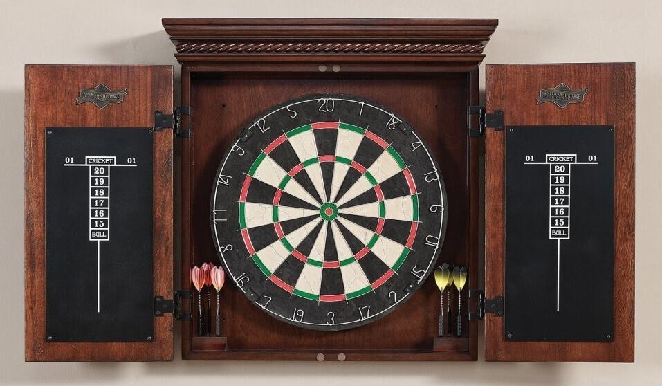 Top 12 Best Dart Board Cabinets Excellent Selections In 2019