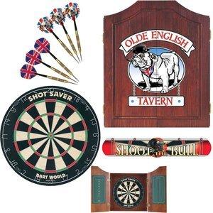 Dart World 47991 Bull Dog Darts Cabinet Kit