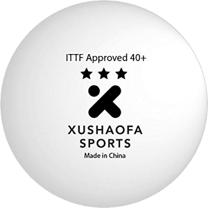 Xushaofa-40+-Seamless-Poly-Table-Tennis-Balls