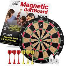 Fun Adams Magnetic Dartboard 16 inch