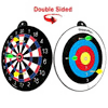 GIGGLE N GO Reversible Magnetic Dart Board For Kids