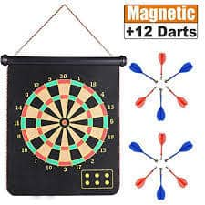 ZS Yangmei Rollup Magnetic Dart Board for Kids