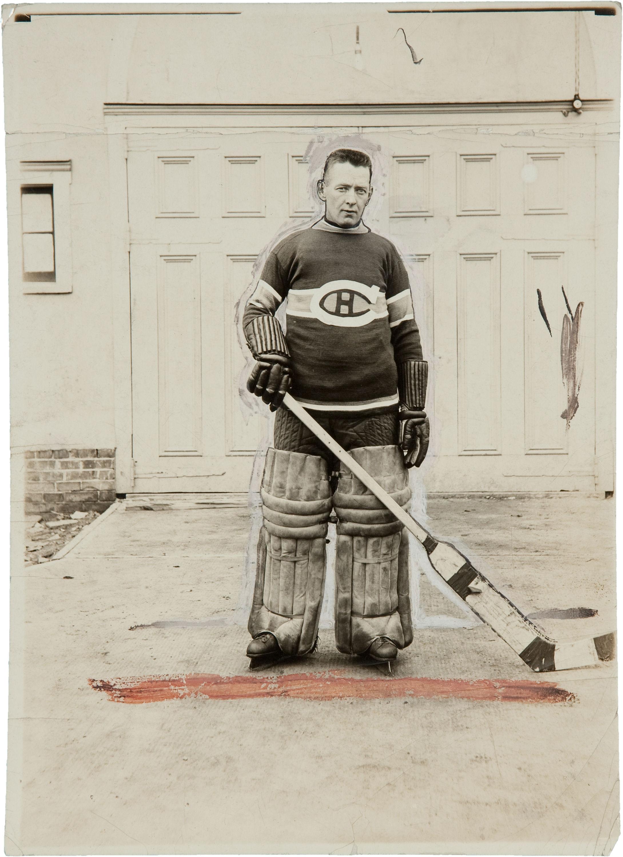 Georges Zina - Montreal Canadiens 1925 Press