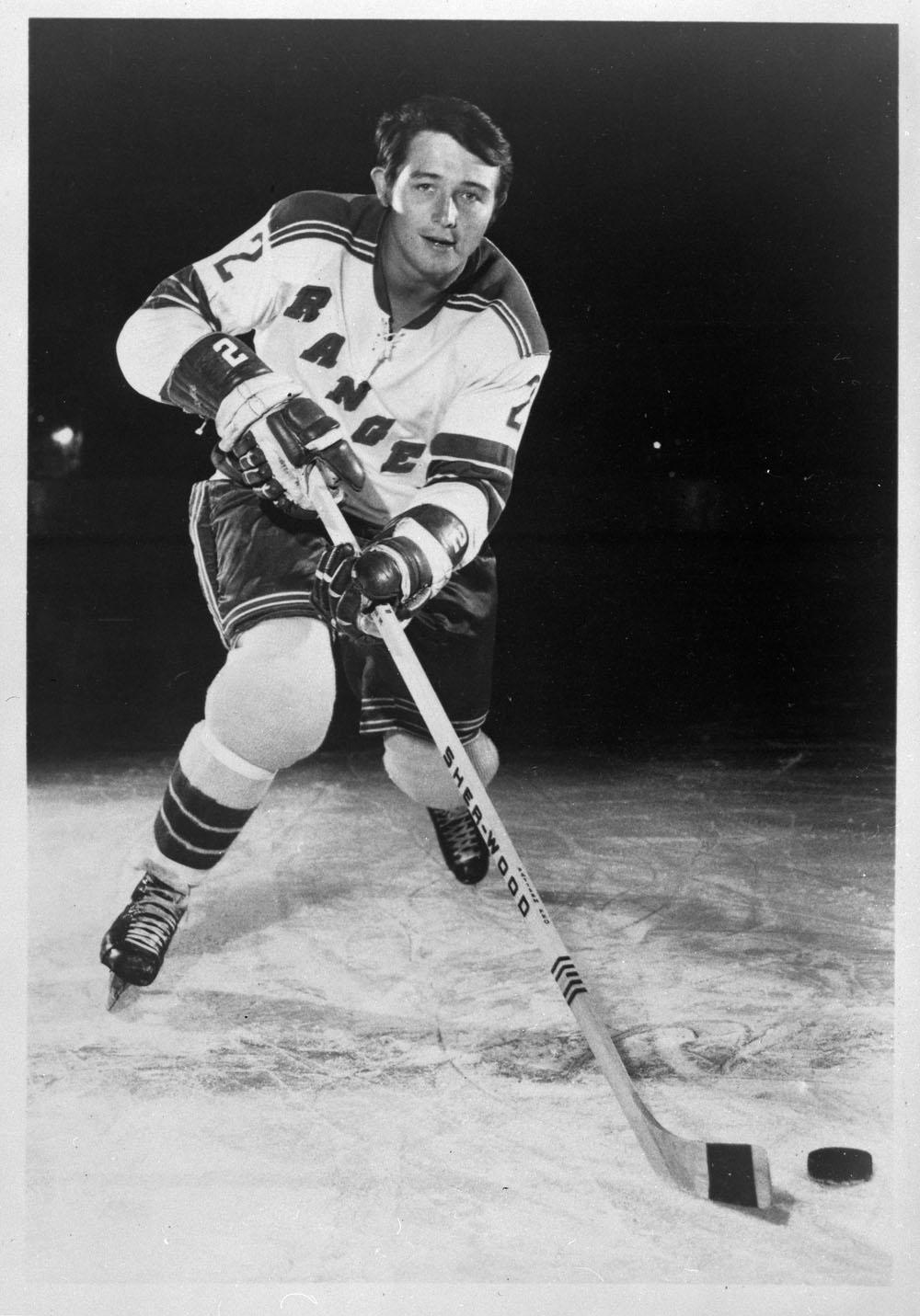Brad Park York Rangers 1970 Hockeygods