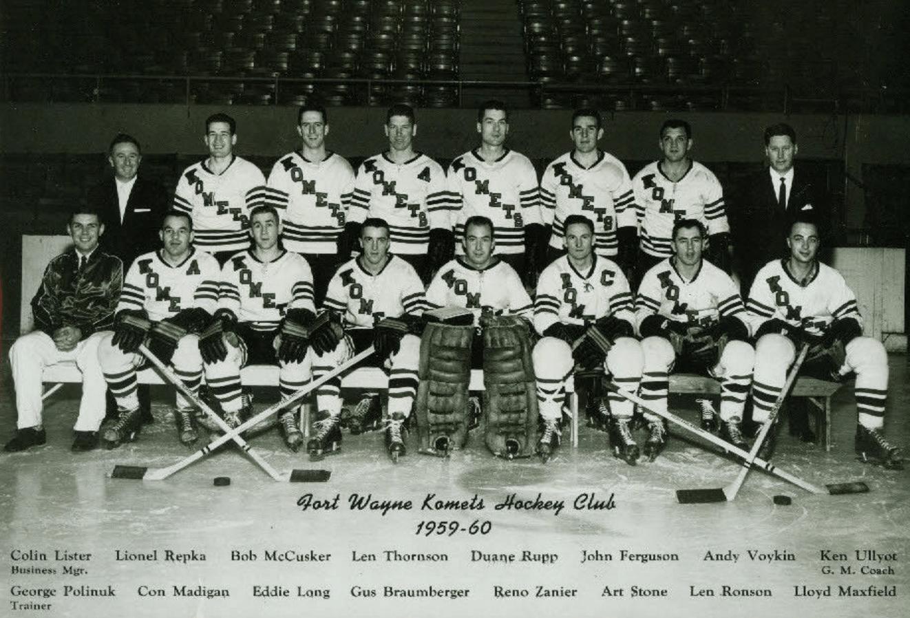 Fort Wayne Komets 1959 International Hockey League