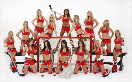 Ice Hockey Cheerleaders 1  HockeyGods