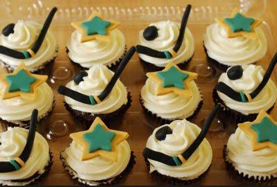 Dallas Stars Cupcakes They Look Sweet Yummy Hockeygods