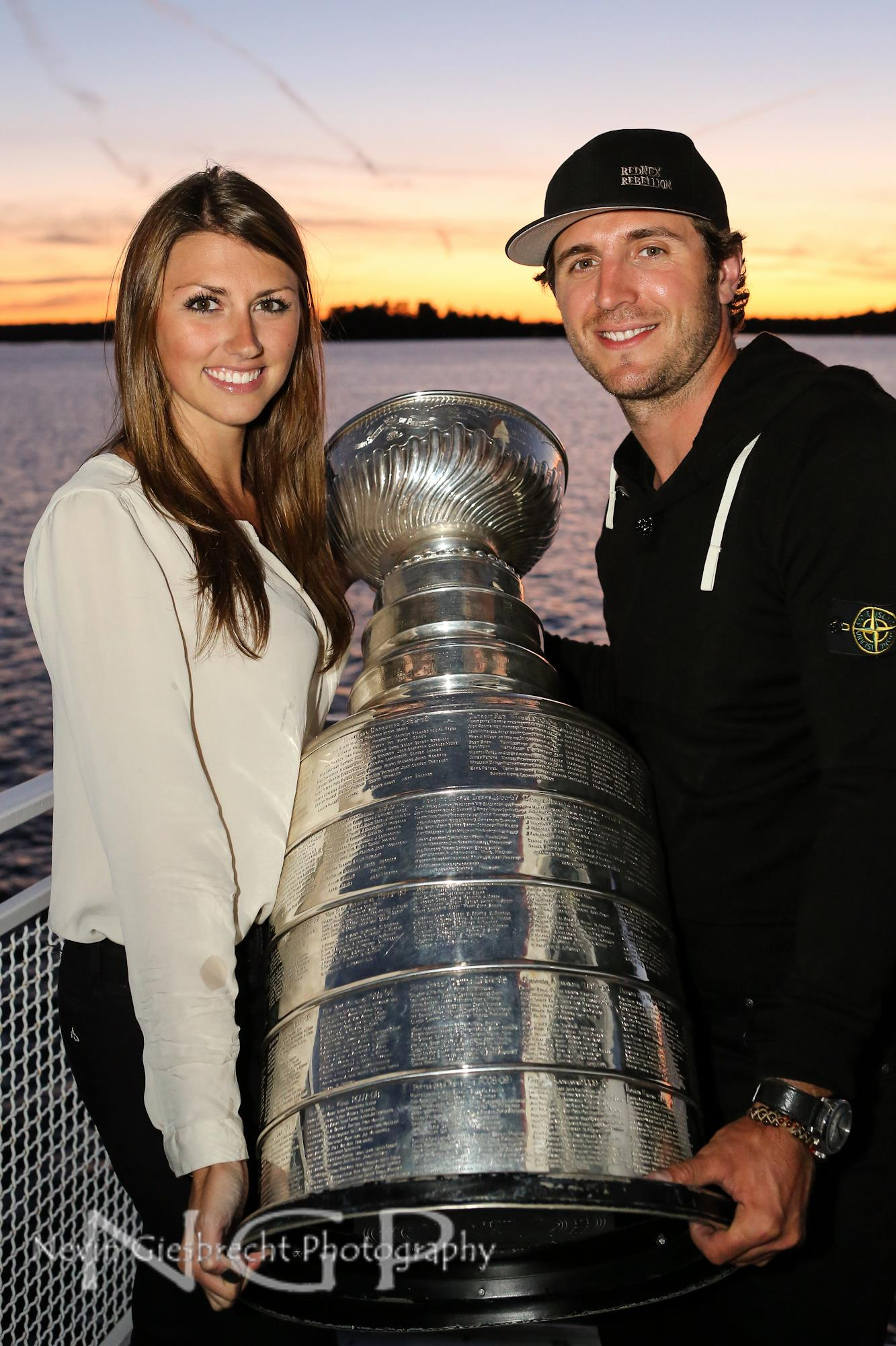 Lindsey MacDonald  The Stanley Cup  Mike Richards