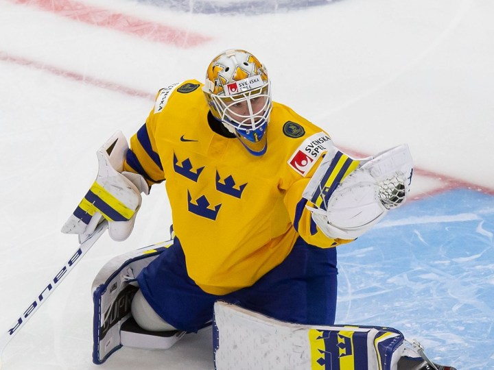 LA Kings Draft Jesper Wallstedt