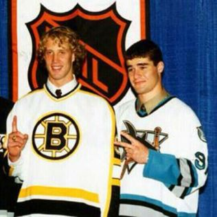 Joe-Thornton-Marleau Joe Thornton Boston Bruins Joe Thornton San Jose Sharks Toronto Maple Leafs