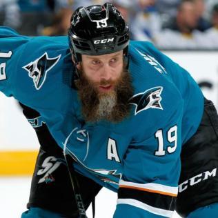 Joe-Thornton-Sharks-1 Joe Thornton Boston Bruins Joe Thornton San Jose Sharks Toronto Maple Leafs