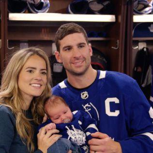 John-Tavares-and-Wife John Tavares New York Islanders Team Canada Toronto Maple Leafs