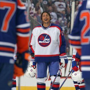 Selanne-Jets Teemu Selanne Anaheim Ducks Colorado Avalanche San Jose Sharks Teemu Selanne Winnipeg Jets