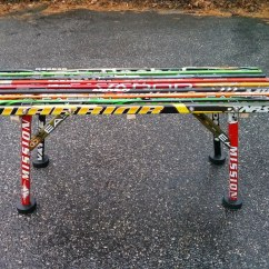 Desk Chair And Heavy Duty Office Mat Bench   Hockey Stick Builds