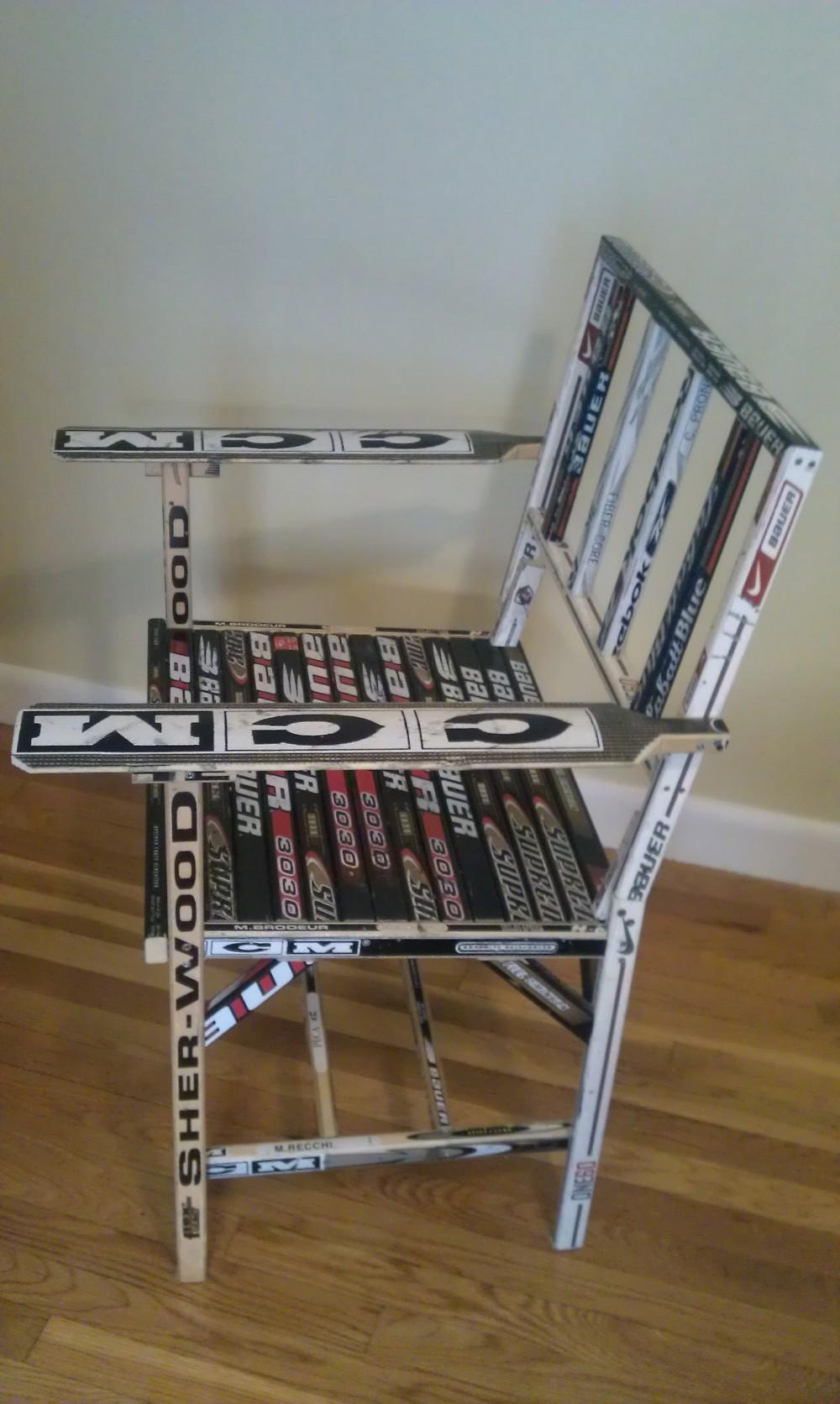 Chair Hockey Stick Builds