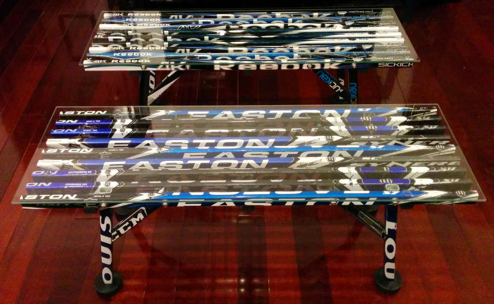 desk chair in store types of couches and chairs coffee table – glass top | hockey stick builds