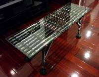 Coffee Table  Glass Top | Hockey Stick Builds