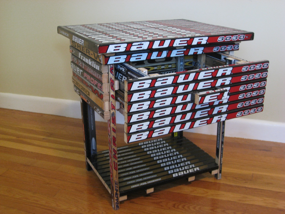 Nightstand  Hockey Stick Builds