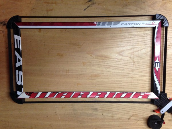 Custom Size Hockey Stick Frame Hockeystix - Year of Clean Water