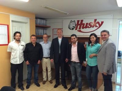 Husky and HL visit Imagen Maldonado