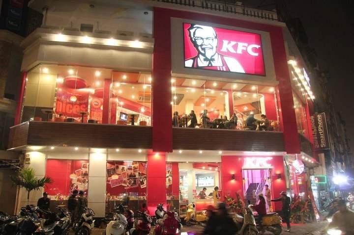 1 tiệm KFC ở Sài Gòn