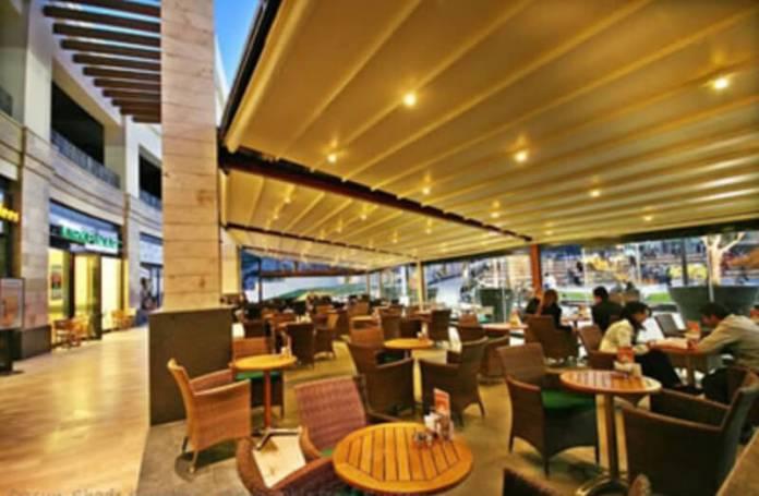 Xem thêm các ý tưởng thiết kế không gian quán cafe kết hợp với mái che