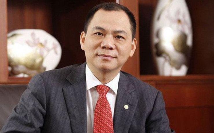 Chủ tich HĐQT VIC Phạm Nhật Vượng
